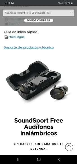 Vendo o cambio audifonos bosse bluetooth casi nuevos en efectivo o celular