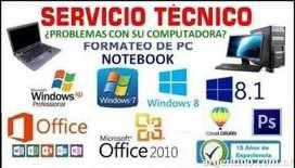 SERVICIO TCNICO NOTEBOOK Y PC