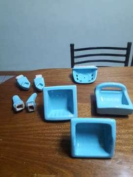 Vendo accesorios para el baño de cerámica nuevos