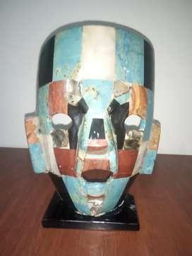 Máscara de cuarzo y nacar