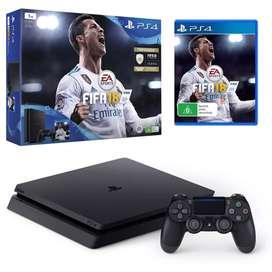 PS4 SLIM 1TB 2 DualShocks