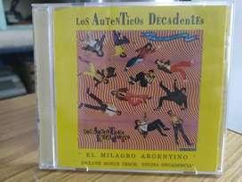 CD Los auténticos decadentes el milagro argentino primera edición 1989