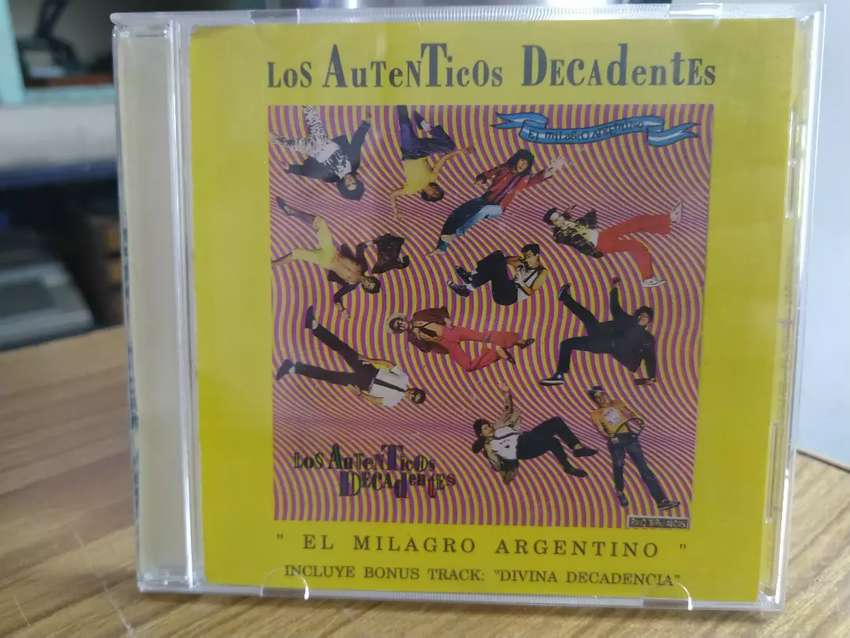 CD Los auténticos decadentes el milagro argentino primera edición 1989 0