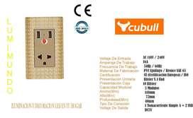 TOMACORRIENTE USB A8-032