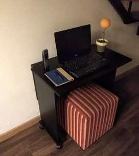 Mesa:escritorio plegable
