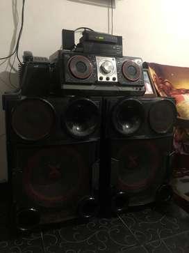 Equipo de sonido xboom
