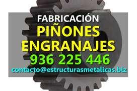 Fabricación de Piñones Engranajes