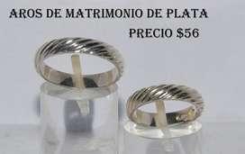 Anillo de Matrimonio de Plata