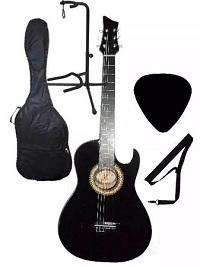Guitarras Acusticas Base De Piso Forro Metodo Pua Colgador