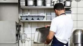 Ayudante - lavaplatos - limpieza