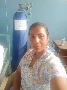 Busco empleo de enfermería