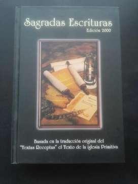 Biblia Sagradas Escrituras Edición 2000