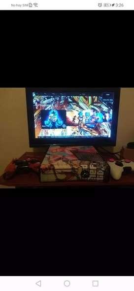 Xbox 360 5.0 con dos controles y disco duro