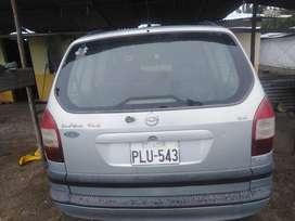 Vehículo Chevrolet Zafira