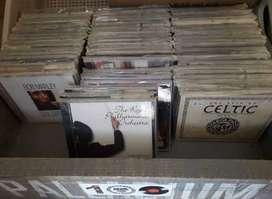LOTE DE MÁS DE 80 CDs ORIGINALES VARIOS