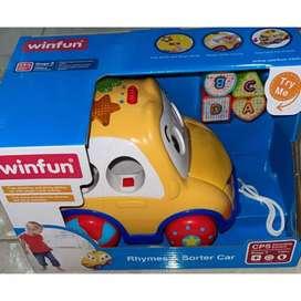 Carro musical para bebé juguete didáctico