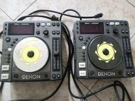 Equipos de reproduccion DENON 1000