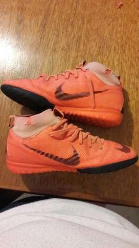 Botines Nike Talle Us 3y, Uk 2.5, Eur 35