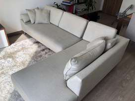Sofa en L en muy buen estado