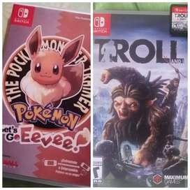 Vendo o cambio por juegos de Nintendo switch