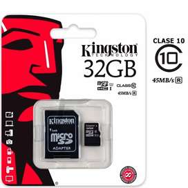 Micro SD Kingston 32 GB