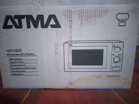 venta de microondas ATMA 20 lts nuevo