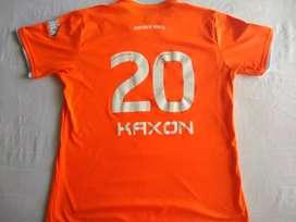 Camiseta de Envigado FC, original.