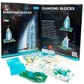 LEGO DIVERTIDO BURJ AL ARAB HOTEL DUBAI
