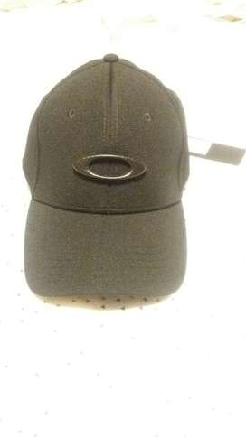 Oakley Gorra Black Carbon Fiber