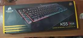 Teclado Gamer Corsair K55