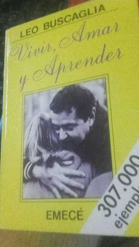 """Vendo libro usado de Leo Buscaglia """"Vivir, amar y aprender"""""""