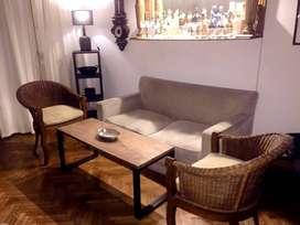 Vendo mesas de hierro y madera