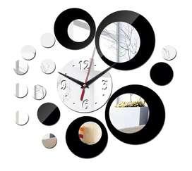 Reloj De Pared 3d Decoración Moderna Hogar Adhesivo Acrilico