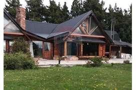 Casa campo con vista al lago