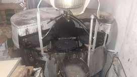 Maquina rotativa industrial