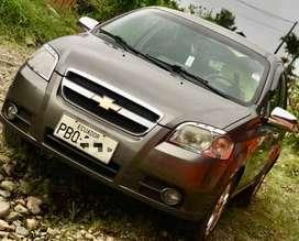 Vendo hermoso auto Aveo Emotion en perfectas condiciones año 2011