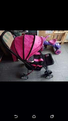 Coche para bebita