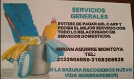 Servicios generales para tu hogar