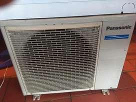 Aire acondicionado panasonic de 12000btu a voltaje 220 excelente estado
