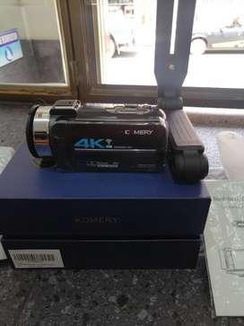 Video cámara 4k con sus ascesorios nueva sin usar