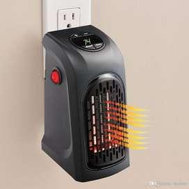 Calefactor de Ambiente Portátil Calentador Eléctrico 400 W - 2 Velocidades