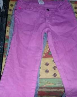 Jeans niña Grisino, talle 10