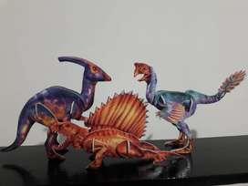 Art 227 Dinosaurios y Dragones Billiken Troquelados para Armar en Perfecto Estado. Precio por Unidad