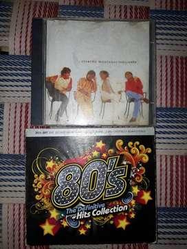 Vendo CDs de los 80's y Ricardo Montaner
