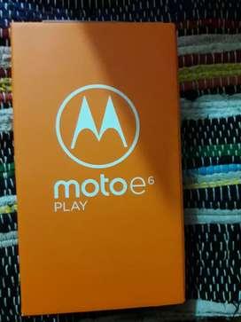 Vendo moto e6 play nuevo en caja