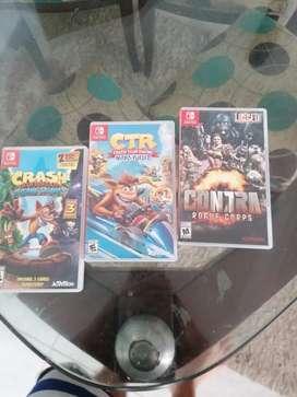 Se cambia. Estos  3 juegos Nintendo swtch zen excelente estadodo