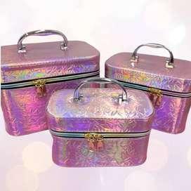 Organizador de maquillaje 3 en 1 maleta para Maquillaje