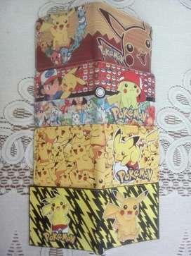 Billeteras Pokémon Cuero Pu