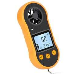 Anemometro digital medidor de velocidad de viento
