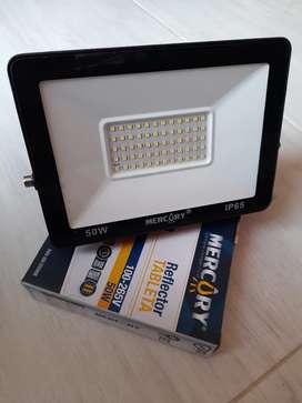 Reflector LED 50W Intemperie luz Blanca Garantía 1año